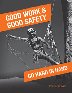 good work and good safety poster
