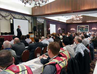 move your safety meeting to conference centres with kevin burns, calgary alberta safety speaker